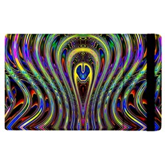 Curves Color Abstract Apple Ipad 3/4 Flip Case