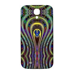 Curves Color Abstract Samsung Galaxy S4 I9500/i9505  Hardshell Back Case