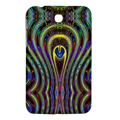 Curves Color Abstract Samsung Galaxy Tab 3 (7 ) P3200 Hardshell Case