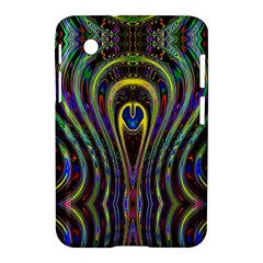 Curves Color Abstract Samsung Galaxy Tab 2 (7 ) P3100 Hardshell Case