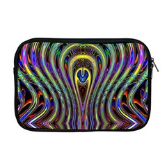 Curves Color Abstract Apple Macbook Pro 17  Zipper Case
