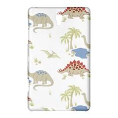 Dinosaur Art Pattern Samsung Galaxy Tab S (8 4 ) Hardshell Case