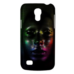 Digital Art Psychedelic Face Skull Color Galaxy S4 Mini