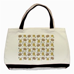Cute Hamster Pattern Basic Tote Bag