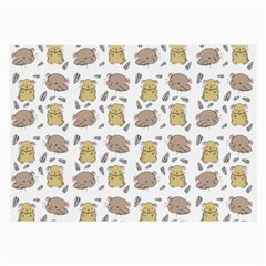 Cute Hamster Pattern Large Glasses Cloth (2 Side)