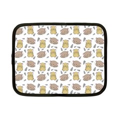 Cute Hamster Pattern Netbook Case (small)