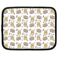 Cute Hamster Pattern Netbook Case (large)