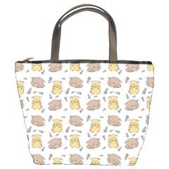 Cute Hamster Pattern Bucket Bags