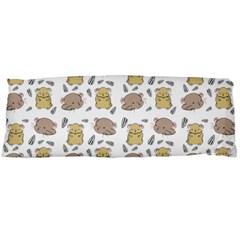 Cute Hamster Pattern Body Pillow Case Dakimakura (two Sides)