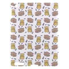 Cute Hamster Pattern Apple Ipad 3/4 Hardshell Case