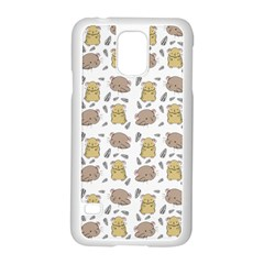 Cute Hamster Pattern Samsung Galaxy S5 Case (white)
