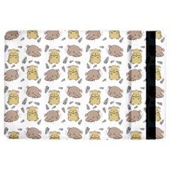 Cute Hamster Pattern Ipad Air 2 Flip