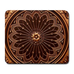 Decorative Antique Gold Large Mousepads