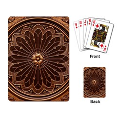Decorative Antique Gold Playing Card