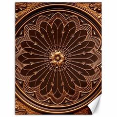 Decorative Antique Gold Canvas 18  X 24