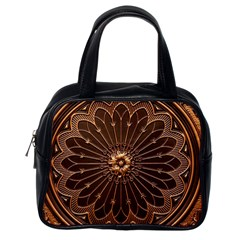 Decorative Antique Gold Classic Handbags (one Side)