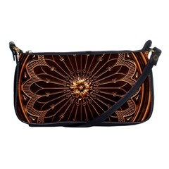 Decorative Antique Gold Shoulder Clutch Bags