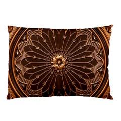 Decorative Antique Gold Pillow Case (two Sides)
