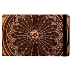 Decorative Antique Gold Apple Ipad 2 Flip Case