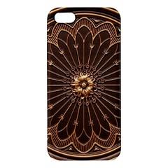 Decorative Antique Gold Apple Iphone 5 Premium Hardshell Case
