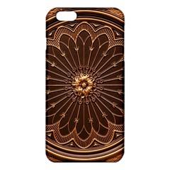Decorative Antique Gold Iphone 6 Plus/6s Plus Tpu Case