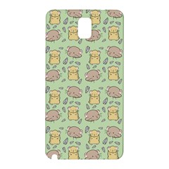 Cute Hamster Pattern Samsung Galaxy Note 3 N9005 Hardshell Back Case
