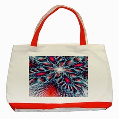 Creative Abstract Classic Tote Bag (red)
