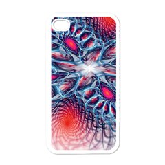 Creative Abstract Apple Iphone 4 Case (white)