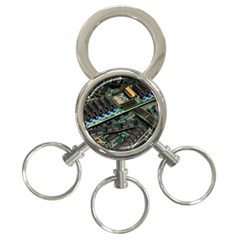 Computer Ram Tech 3 Ring Key Chains