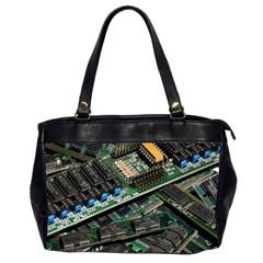 Computer Ram Tech Office Handbags (2 Sides)