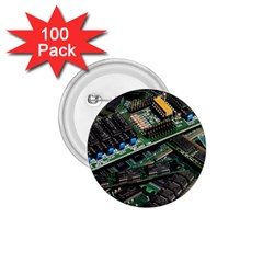 Computer Ram Tech 1 75  Buttons (100 Pack)