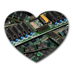Computer Ram Tech Heart Mousepads