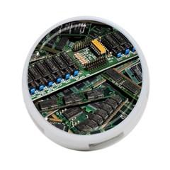 Computer Ram Tech 4 Port Usb Hub (two Sides)