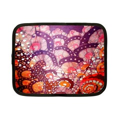 Colorful Art Traditional Batik Pattern Netbook Case (small)