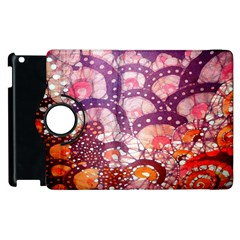 Colorful Art Traditional Batik Pattern Apple Ipad 3/4 Flip 360 Case