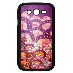 Colorful Art Traditional Batik Pattern Samsung Galaxy Grand Duos I9082 Case (black)