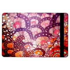 Colorful Art Traditional Batik Pattern Ipad Air Flip