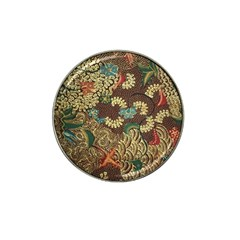 Colorful The Beautiful Of Art Indonesian Batik Pattern Hat Clip Ball Marker (10 Pack)