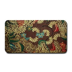 Colorful The Beautiful Of Art Indonesian Batik Pattern Medium Bar Mats
