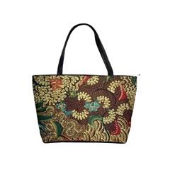Colorful The Beautiful Of Art Indonesian Batik Pattern Shoulder Handbags