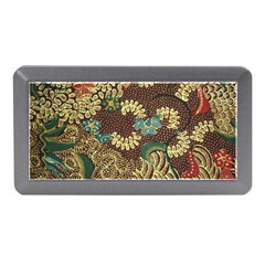 Colorful The Beautiful Of Art Indonesian Batik Pattern Memory Card Reader (mini)