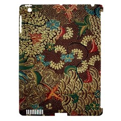 Colorful The Beautiful Of Art Indonesian Batik Pattern Apple Ipad 3/4 Hardshell Case (compatible With Smart Cover)