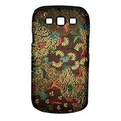 Colorful The Beautiful Of Art Indonesian Batik Pattern Samsung Galaxy S Iii Classic Hardshell Case (pc+silicone)