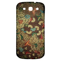 Colorful The Beautiful Of Art Indonesian Batik Pattern Samsung Galaxy S3 S Iii Classic Hardshell Back Case