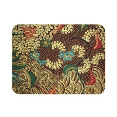 Colorful The Beautiful Of Art Indonesian Batik Pattern Double Sided Flano Blanket (mini)