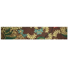Colorful The Beautiful Of Art Indonesian Batik Pattern Flano Scarf (large)
