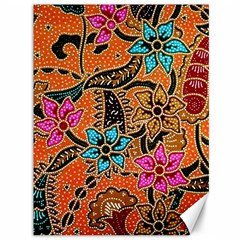 Colorful The Beautiful Of Art Indonesian Batik Pattern(1) Canvas 36  X 48