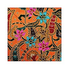 Colorful The Beautiful Of Art Indonesian Batik Pattern(1) Acrylic Tangram Puzzle (6  X 6 )