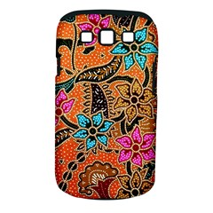 Colorful The Beautiful Of Art Indonesian Batik Pattern(1) Samsung Galaxy S Iii Classic Hardshell Case (pc+silicone)