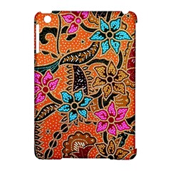 Colorful The Beautiful Of Art Indonesian Batik Pattern(1) Apple Ipad Mini Hardshell Case (compatible With Smart Cover)